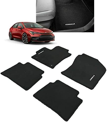 2005 2007 2006 2009 Dodge Durango Black with Red Edging Driver /& Passenger Floor GGBAILEY D3406A-F1A-BLK/_BR Custom Fit Car Mats for 2004 2008