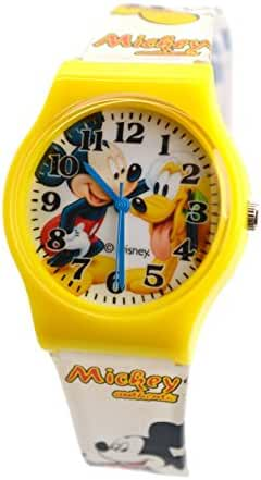 Disney Watch For Kids Mickey Mouse.Large Analog Display. Adjustable Band 9