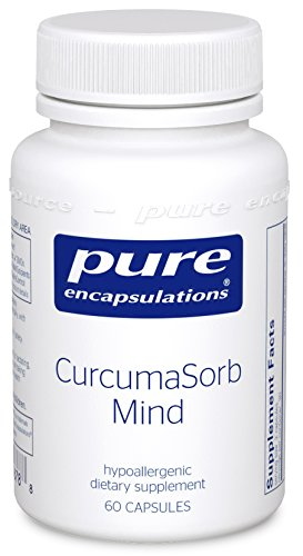 Pure Encapsulations - CurcumaSorb Mind - Hypoallergenic Blend with Curcumin and Polyphenols to Promote Mood, Memory and Mental Sharpness* - 60 Capsules by Pure Encapsulations