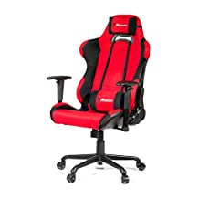 Arozzi Torretta XL Series Gaming Racing Style Swivel Chair, Red