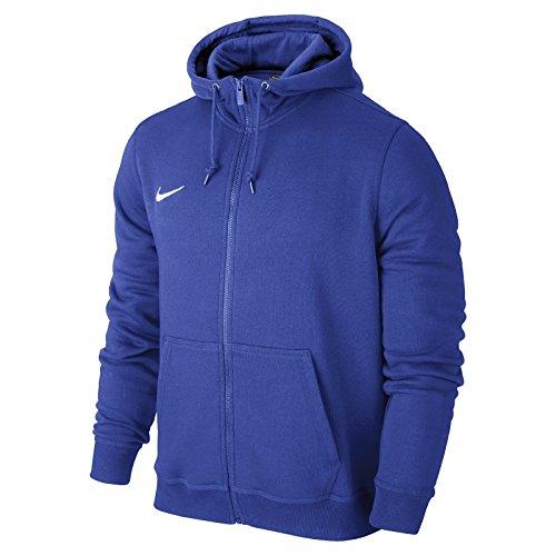Nike Team Club Full Zip Hoody Kids (Blue, L) (Hoodie Zip Italian)