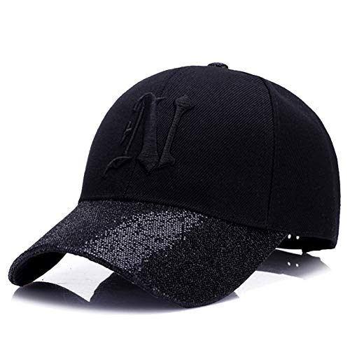 MKJNBH Baseball Cap Fashion Outdoor Baseball Cap Ladies Autumn Winter Hair Green Sunscreen Sunshade Casual Duck Tongue Hat ()