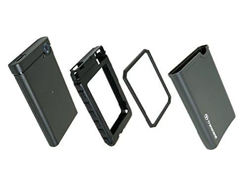 """Transcend StoreJet 25CK3 2 5"""" SATA III SSD/HDD Enclosure Kit USB 3 1 Gen 1  TS0GSJ25CK3"""