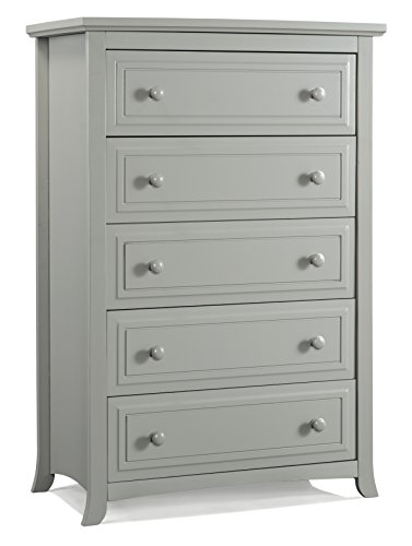 Graco Kendall 5 Drawer Chest, Pebble Gray by Graco