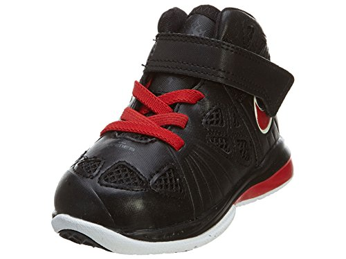 Nike Air Jordan 1 Low, Zapatillas de Deporte para Hombre Black/Sport Red-White