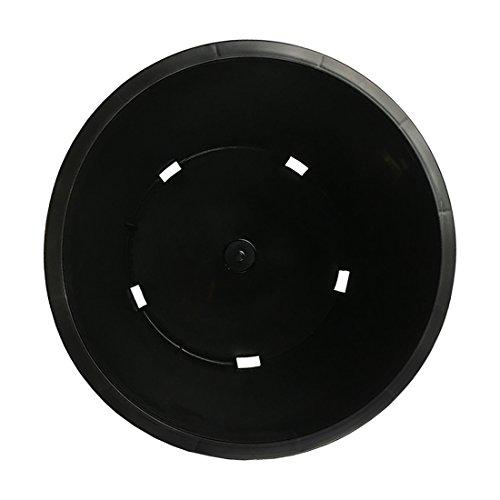 CaliPots 20-Pack 5 Gallon Premium Black Plastic Nursery Plant Container Garden Planter Pots (5 Gallon) by Calipots (Image #2)