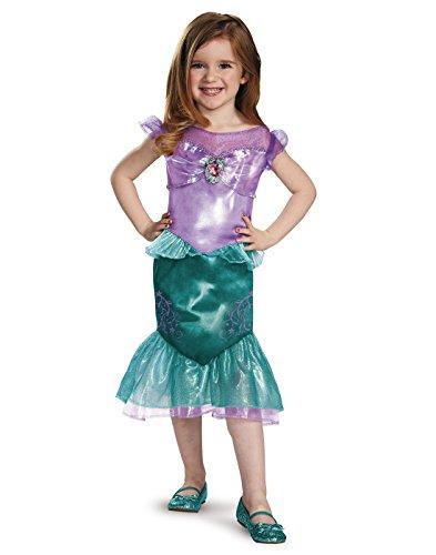 Ariel Toddler Classic Costume, Medium (3T-4T)