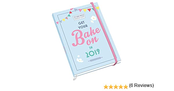 Great British Bake Off A5 Official 2019 Diary - A5 Diary Format ...