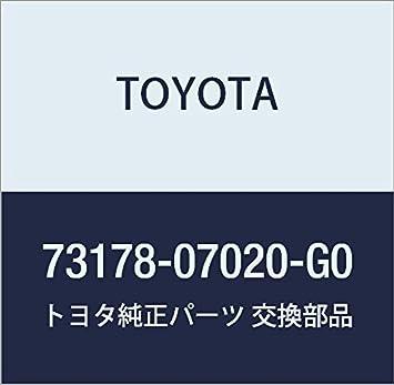 Genuine Toyota 73178-07020-C0 Seat Belt Anchor Cover Cap