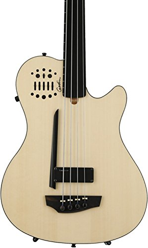 Godin A4 Ultra Fretless Bass - Natural SG EN SA by Godin