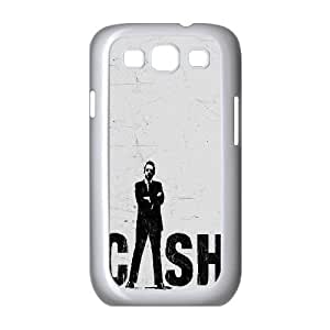 wugdiy New Fashion Hard Back Cover Case for Samsung Galaxy S3 I9300 with New Printed Johnny Cash