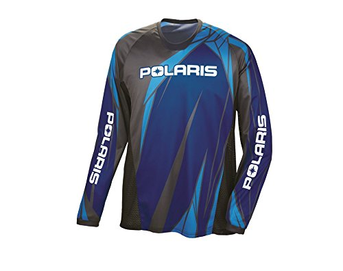 Polaris Off-Road Riding Jersey - Blue - Large 286794006
