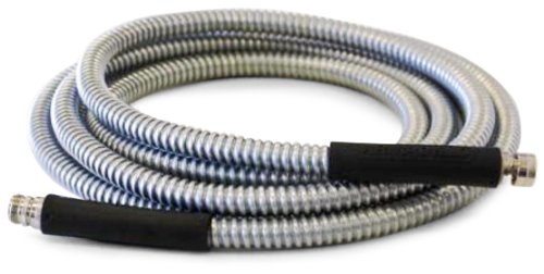Armadillo Hose DH06 1/2-Inch by 6-Foot Galvanized Steel Dura