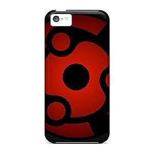 Durable Naruto Shippuden Sharingan Mangekyou Sharingan Back Cases/covers For Iphone 5c