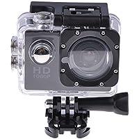 Huayang Action Camera Full HD 1080P Waterproof Sports Camera 2 LCD Video Recorder Accessories Kit