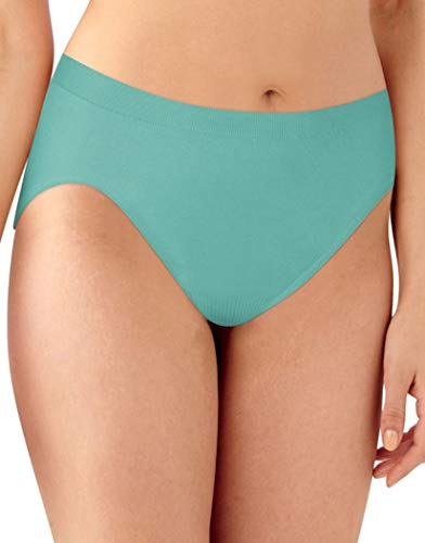 Bali Women's Comfort Revolution Seamless High-Cut Brief Panty, Riviera Jade, 7