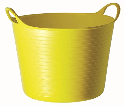 Tubtrugs SP26YF Flexible Yellow Medium 26 Liter/6.9 Gallon Capacity - Extra Large Bucket