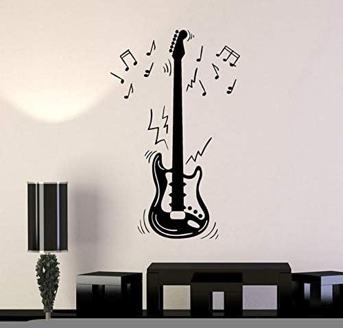 ZZDJ Guitarra eléctrica Decoración para Fiestas Notas Familiares ...