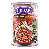 Cedar Fava Beans Foul Mudammas 15 Oz. Pack Of 6.
