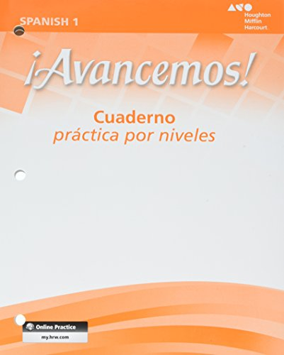 Pdf Teen ¡Avancemos!: Cuaderno: Practica por niveles (Student Workbook) with Review Bookmarks Level 1 (Spanish Edition)
