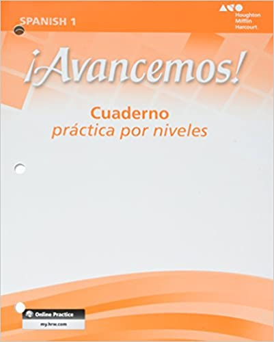 Amazon avancemos cuaderno practica por niveles student cuaderno practica por niveles student workbook with review bookmarks level 1 spanish edition spanish workbook edition fandeluxe Choice Image
