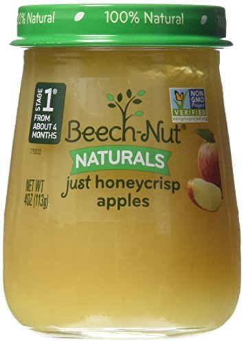 Beech-Nut Stage 1 Just Honeycrisp Apple Baby Food, 4 Ounce (Pack of 10) by Beech-Nut