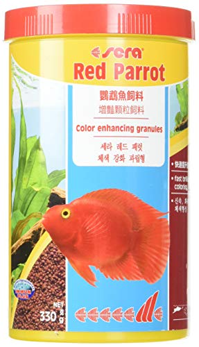 Sera 413 red Parrot 11.6 oz 1.000 ml Pet Food, One Size