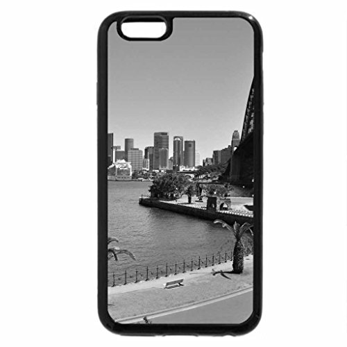 iPhone 6S Plus Case, iPhone 6 Plus Case (Black & White) - CIRCULAR QUAY