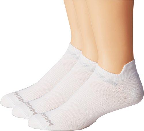 Wrightsock Unisex Coolmesh II Tab 3 Pack White Sock