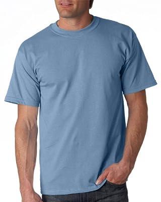 Gildan Adult Ultra Cotton T-Shirt, Stone Blue, XXX-Large. 2000