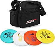 Abarich 4 PCS Discs Golf Pro Set with Distance Driver Fairway Driver Mid-Range Putter for Beginners