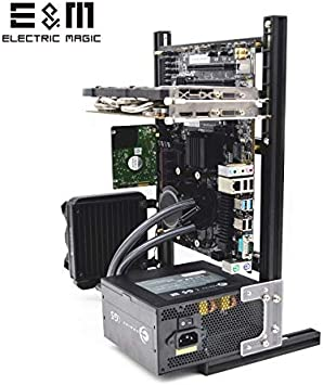 Electric Magic Creative Personality DIY Chassis Bracket Open Chassis ITX Vertical Computer Game Chassis Rack Water-Cooled PC Test Bench