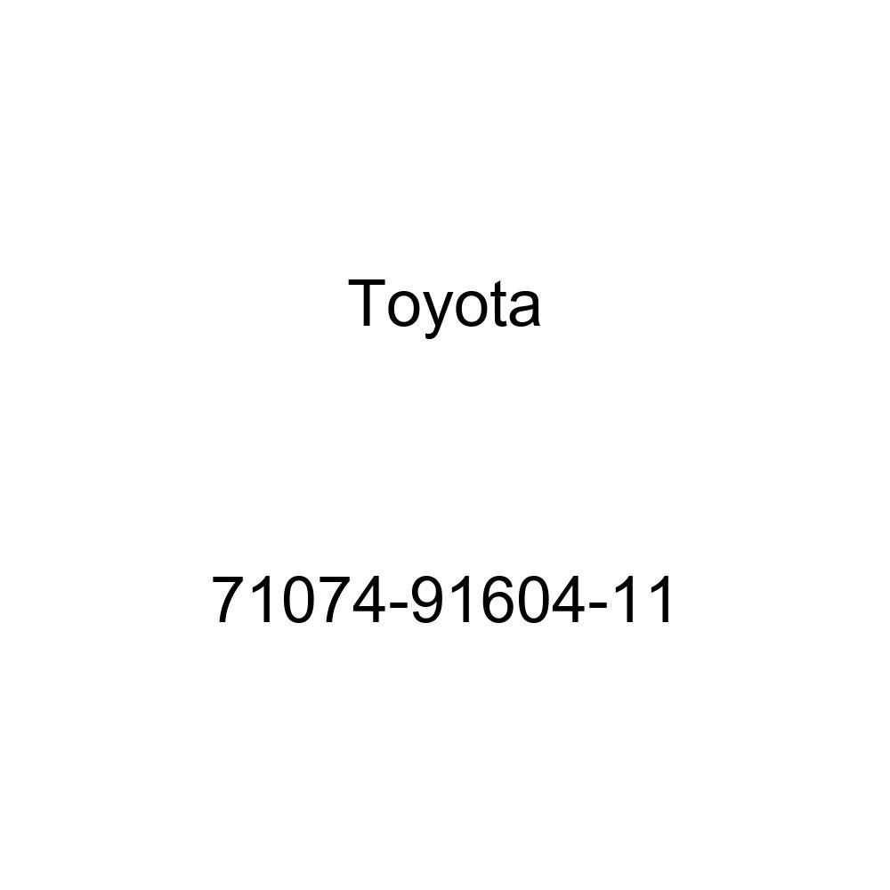 TOYOTA Genuine 71074-91604-11 Seat Back Cover