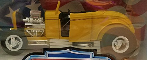 Ertl Car (1932 Ford Street Rod 1:18 American Muscle Ertl Collectibles Die-Cast Metal Car Yellow)