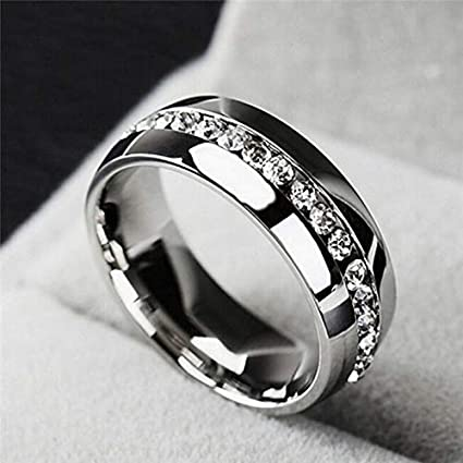 Amazon.com: JOY Jewelry Anillo de Diamante de alta calidad ...