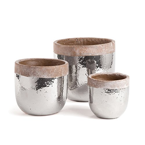 Porch & Petal Sterling Pots Round, Set of 3, 24 Piece