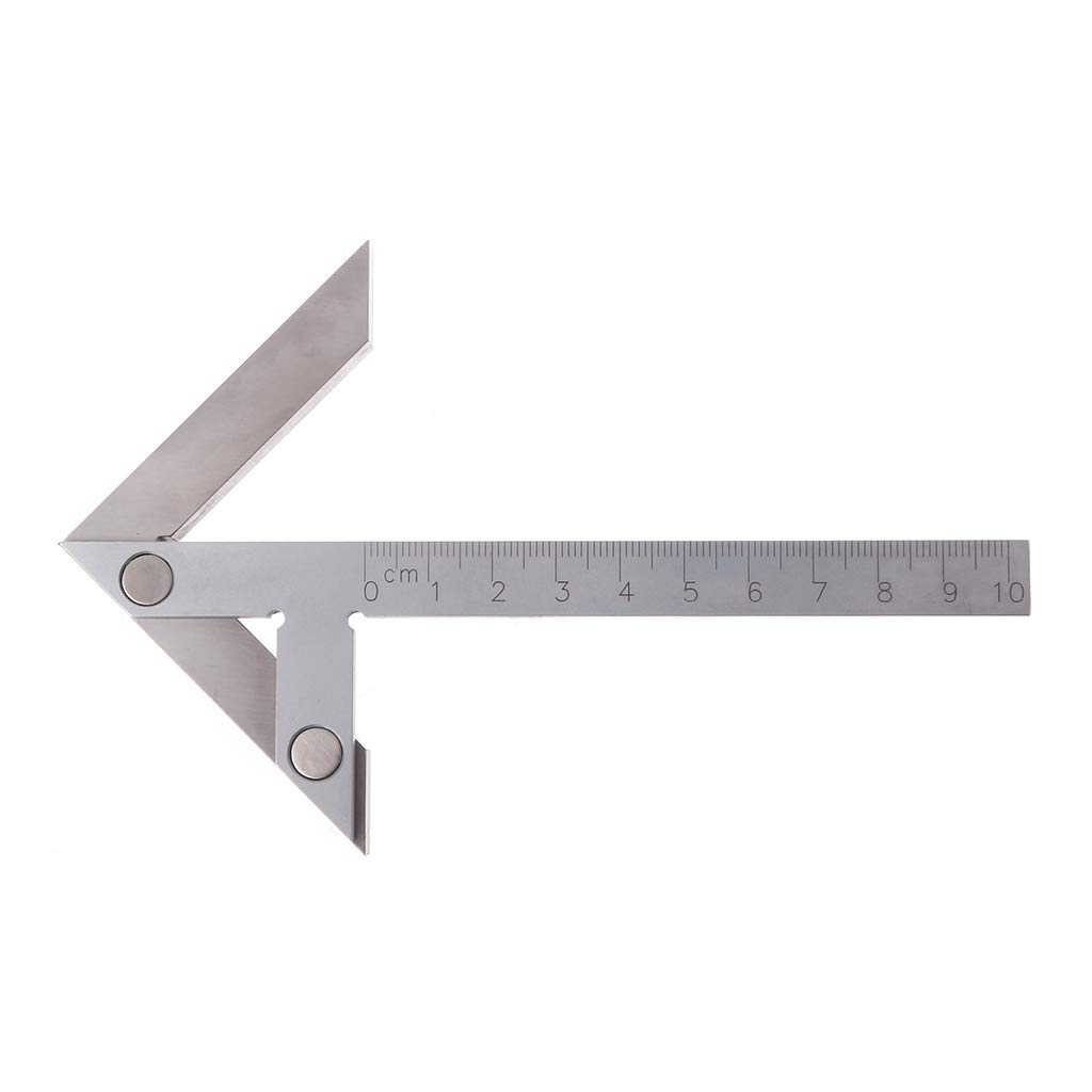 Vitality-Store Centering Square 10070mm Gaging Center Gauge, Round Bar Marking Center Finder by Vitality-Store