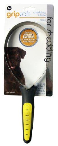 JW Pet Company GripSoft Shedding Blade Dog Brush, Large, My Pet Supplies