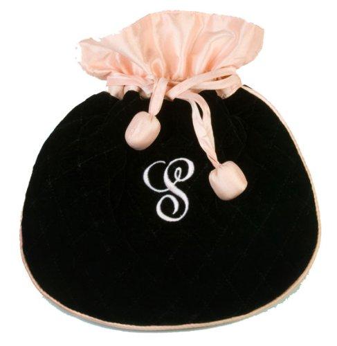 (Black Velvet Jewelry Pouch)