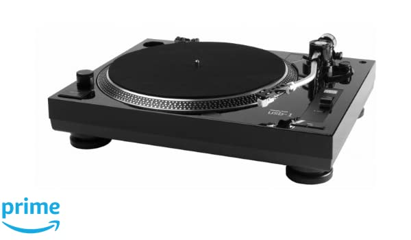 Music Hall USB-1 - Plato giradiscos de Correa, Color Negro: Amazon ...
