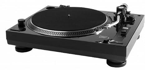 Music Hall USB-1 - Plato giradiscos de Correa, Color Negro ...