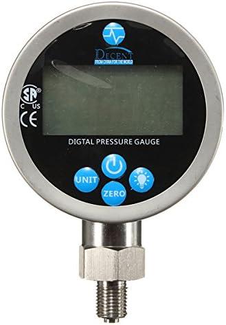 Queenwind 400BAR/40Mpa デジタルディスプレイ油圧計テストメーター