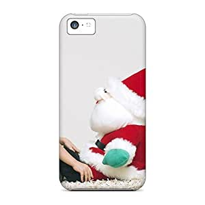 Snap-on Boy Santa Claus Case Cover Skin Compatible With Iphone 5c