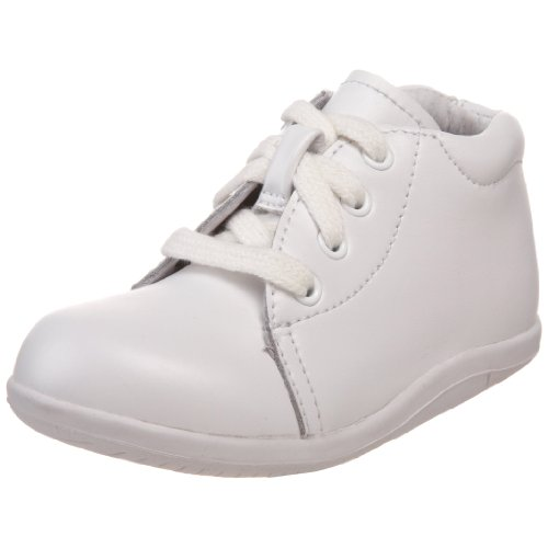 Stride Rite SRTech Elliot Bootie ,White,4 M US Toddler (Shoes Baby Stride Ride)