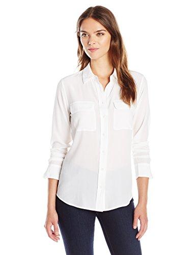 edbecb9bf4d345 Amazon.com: Equipment Women's Slim Signature: Clothing