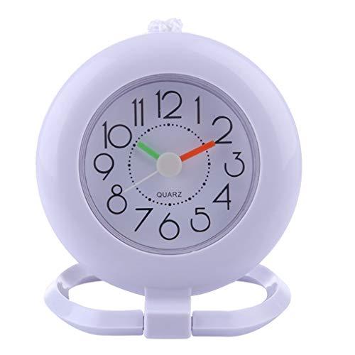 LOVIVER Wall Clock Bathroom Shower Slate Hanging Clock with Towel Ring - Green