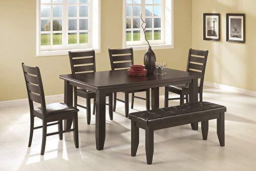 Price comparison product image Dalila Rectangular Semi-Formal Dining Table Cappuccino