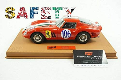 ポケール フェラーリ 250 GTO プラモデル 1/18
