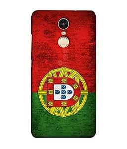ColorKing Football Portugal 01 Multi Color shell case cover for Xiaomi Redmi 5