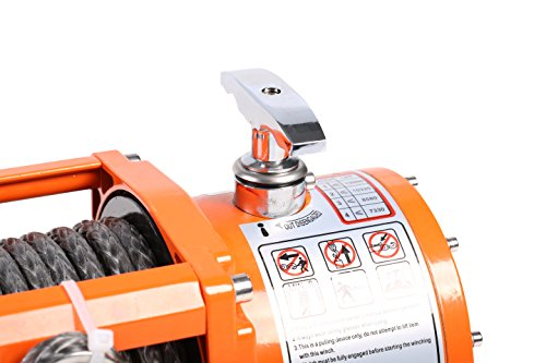 X-BULL 12V Waterproof Synthetic Rope Winch-13000 lb. Load Capacity IP67 by X-BULL (Image #3)